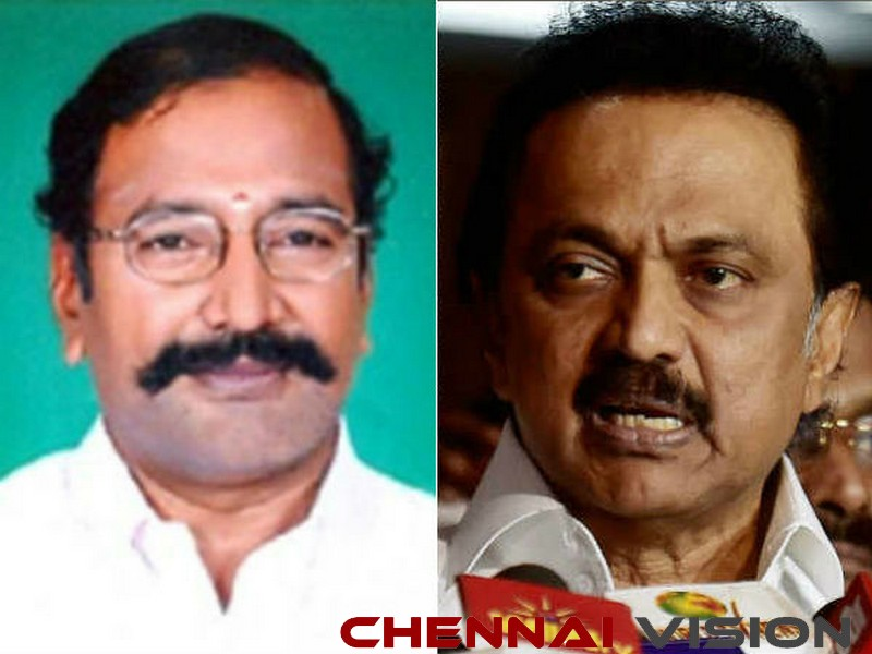 File case against me or I will sue you Stalin to Thangamani