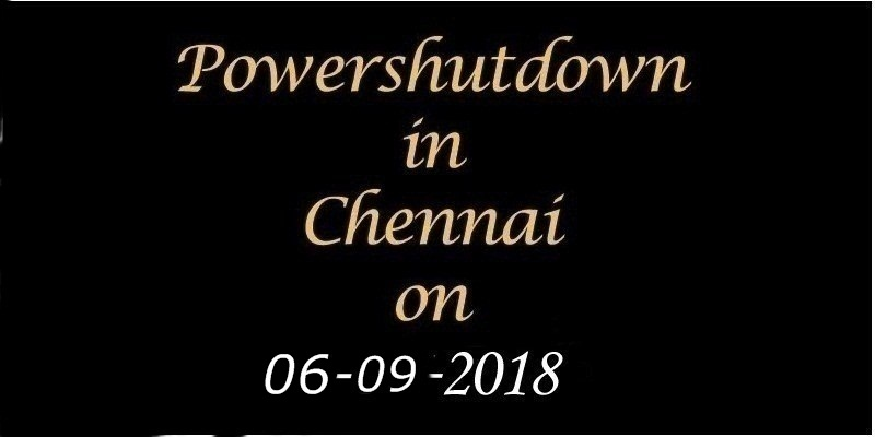Power Shutdown 06.09.18
