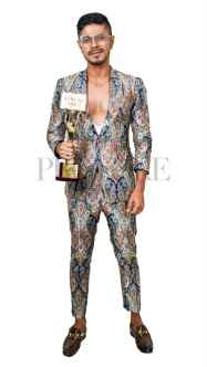 Provoke Awards BEST FASHION DESIGNER Ashwin Thiyagarajan