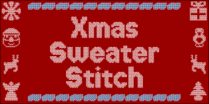 Xmas Sweater Stitch