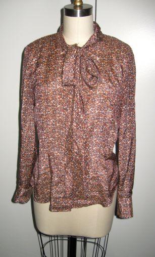 Vogue 8772 nectarine silk:cotton front