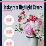 8 Free Pink Watercolor Instagram Story Covers Cherbear Creative