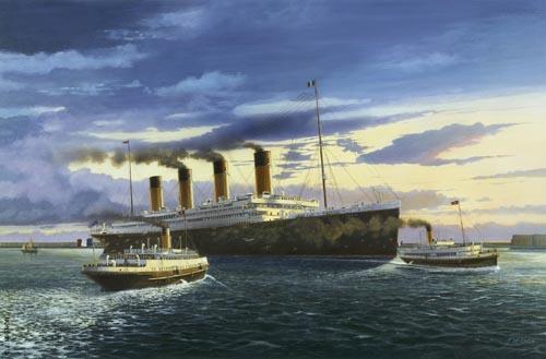 La Construction Du Titanic La Fantastique Pope Du RMS