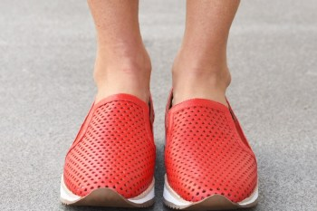 Zapatillas Allie Cereza
