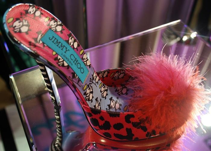 Fluffy Shoe Jimmy Choo