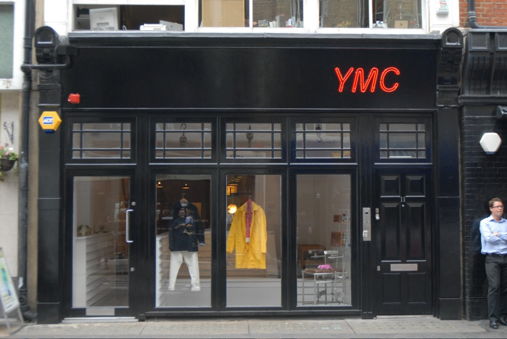 YMC store front