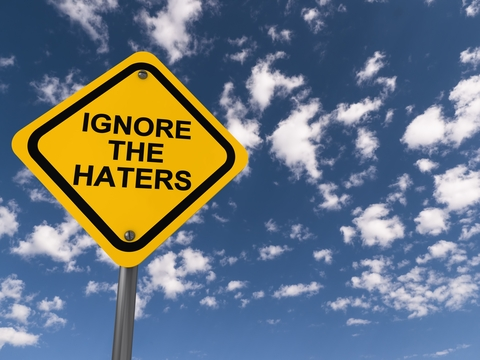 bullies haters hate ignore the