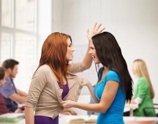 bullying girl physical