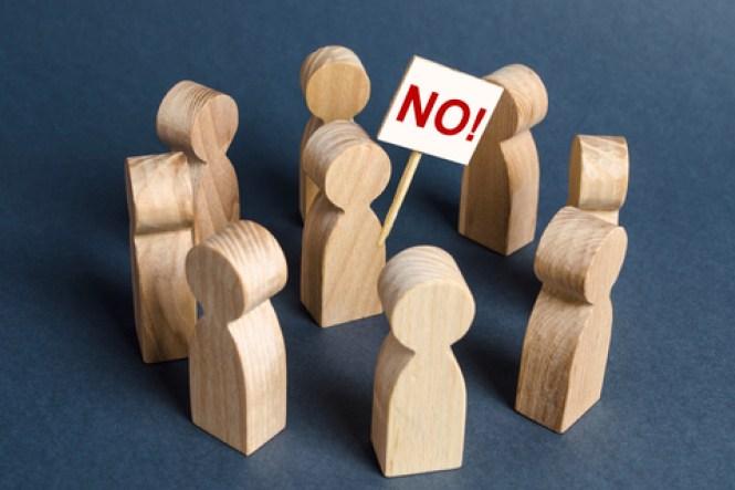 positive bullied victim says NO
