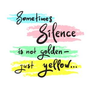 fear silence