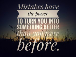 motivational inspirational mistakes