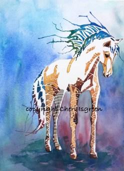 """Dream Horse #1 """"Queen Bee"""" $350"""