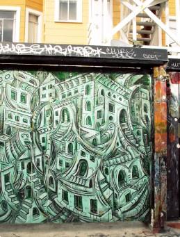 Clarion Alley, San Francisco