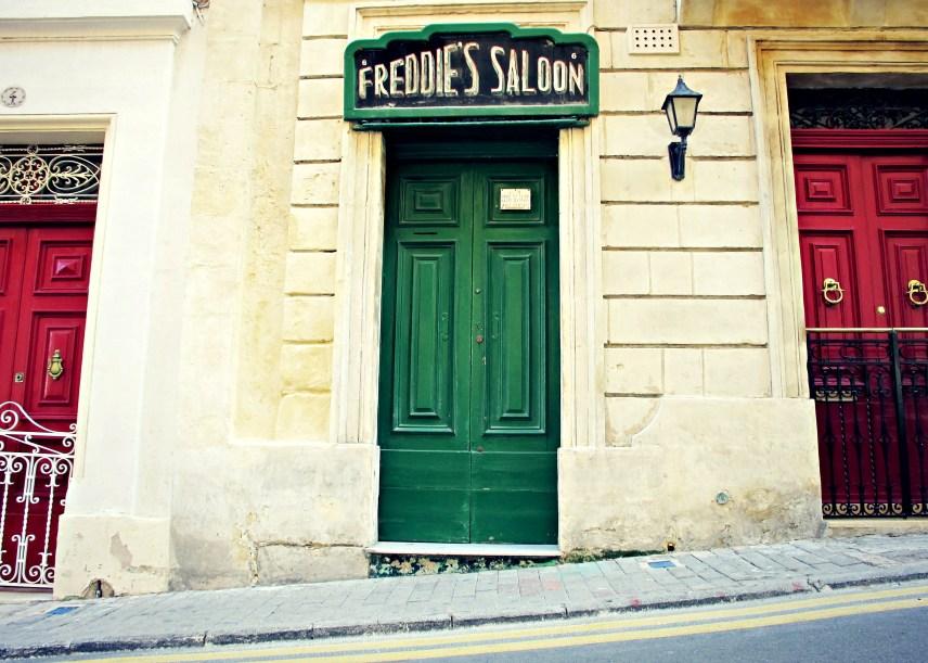 Door in Vittoriosa, Malta