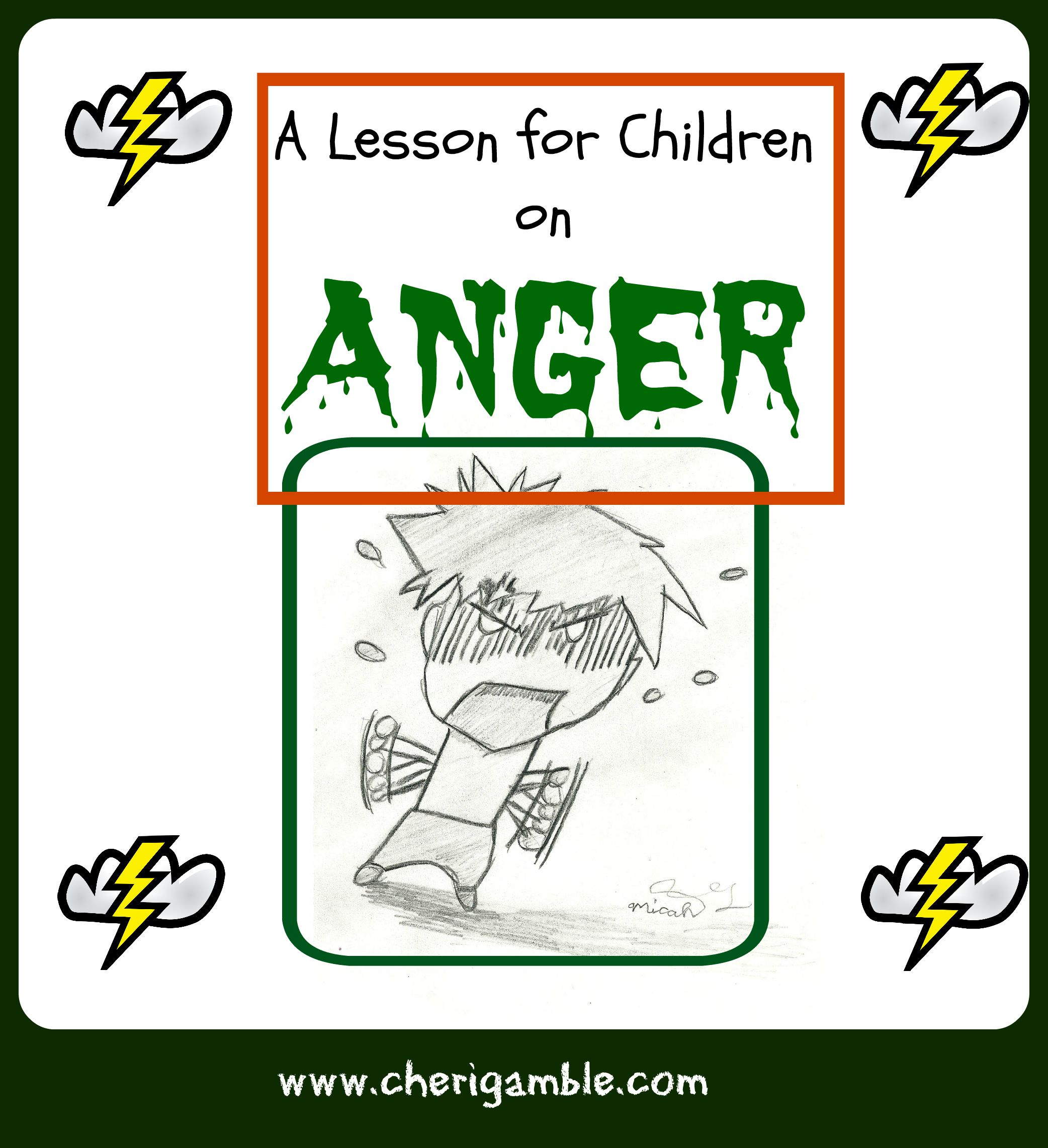 A Lesson For Children On Anger From James 1 19 21