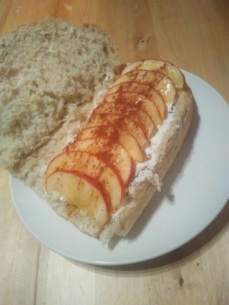 Bread philadelphia cream cheese apple cinnamon