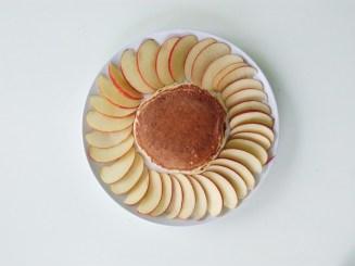 Vegan Cinnamon Apple Pancakes (2)