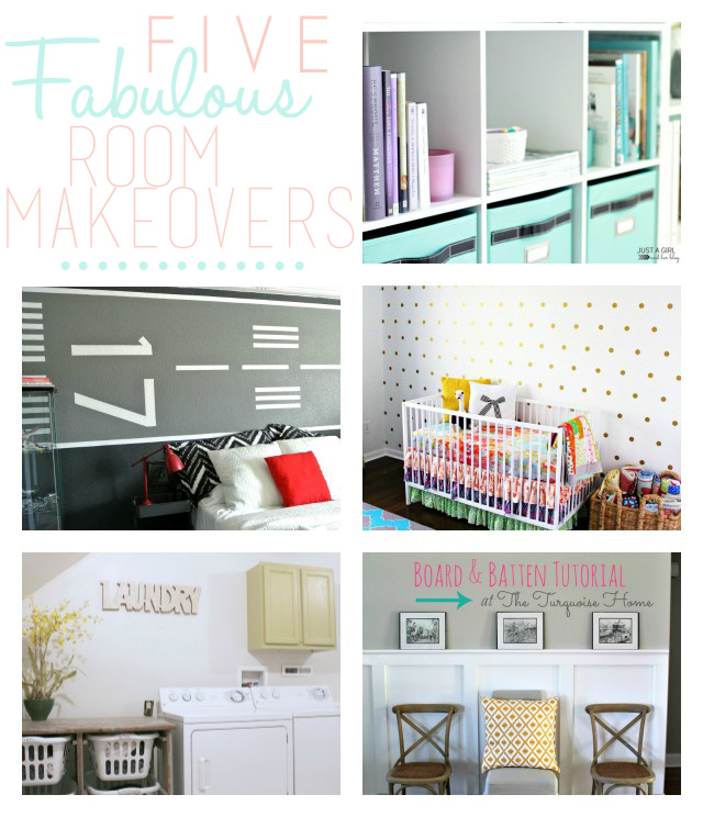 5 Fabulous Room Makeovers