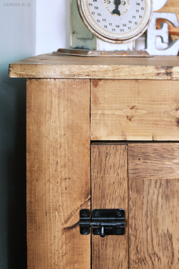 How To Build A Small Farmhouse Buffet Free Plans Cherished Bliss