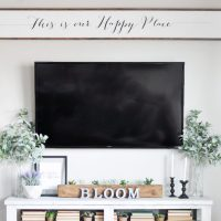 DIY Large Wooden Sign Using Cricut Explore Air
