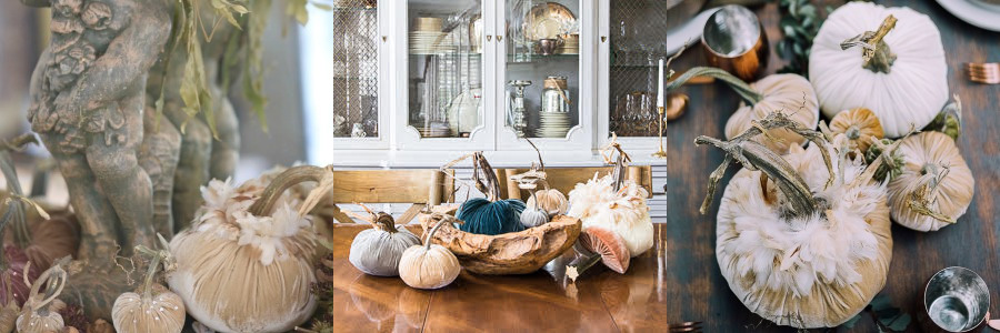 Velvet Pumpkin Outdoor Fall Tablescape Cherished Bliss