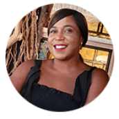 Picture of Chandrea Clarke, the founder and Registered Manager of Cherished Home Care