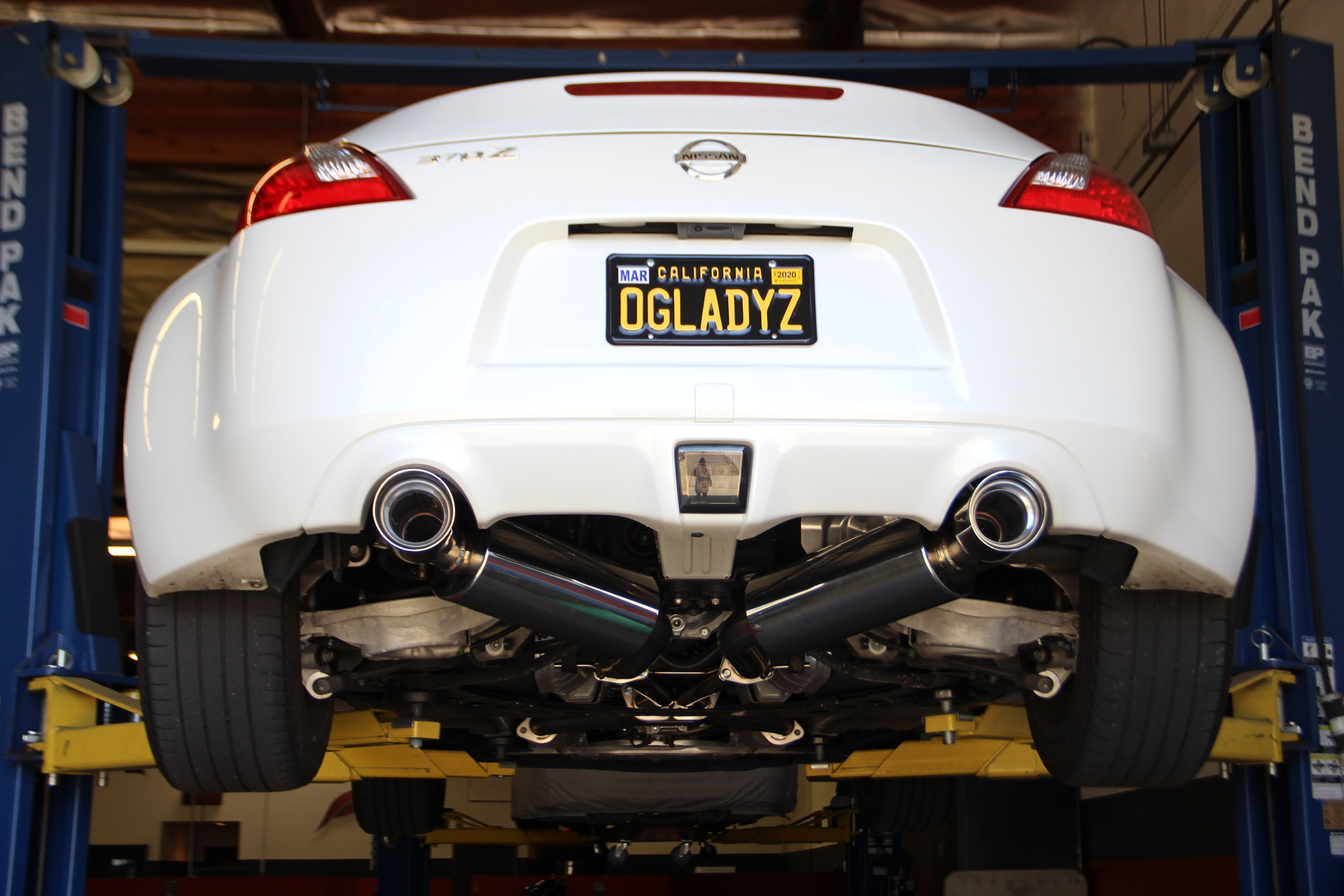 top 5 exhausts for nissan s 370z cherry