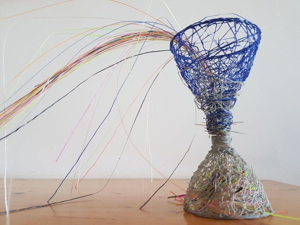 "Sophy Cherkov, ""Intangible Time"", 3D Pen"