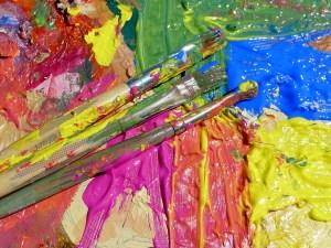ציור בצבעי אקריליק