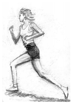 Exercises in drawing the proportions of the human body