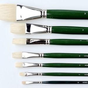 Brussels flat brush
