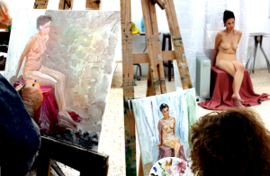 Tips for working with a nude model