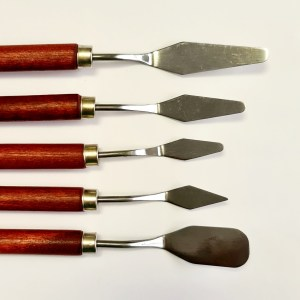 סט סכיני ציור