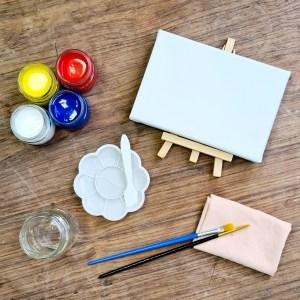 מיני קיט ציור בצבעי גואש
