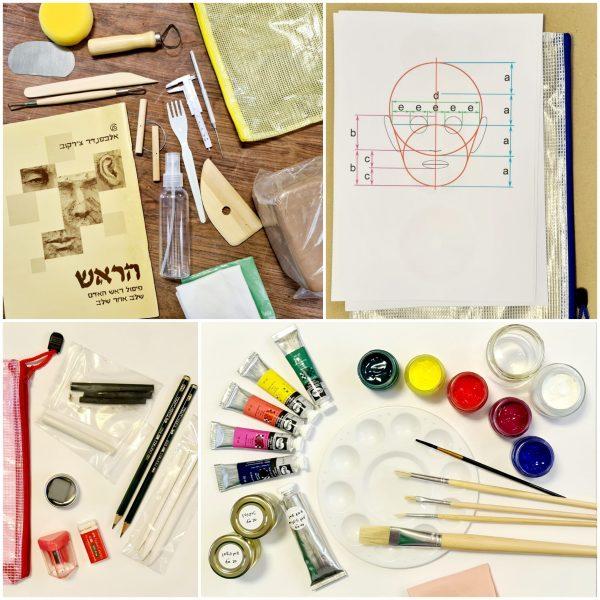 An art kit for beginners