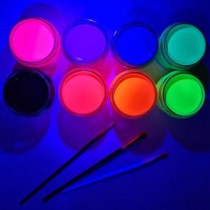 Набор светящихся гуашевых красок