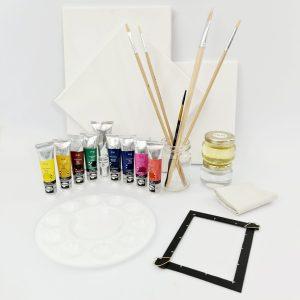 Базовый набор для рисования маслом