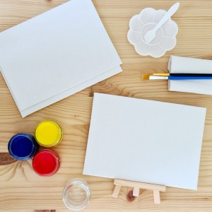 Мини-набор для рисования гуашью