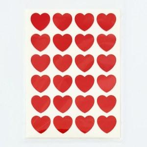 מדבקות לבבות