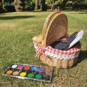 Picnic watercolor kit