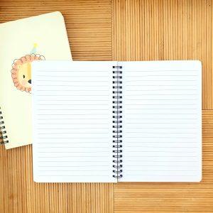Designed line notebook