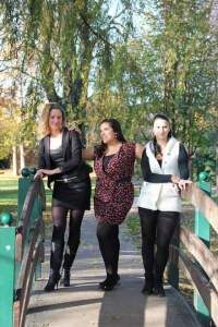 collants well sur un pont