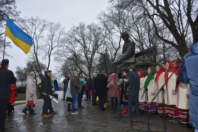 У Чернігові відзначають річницю з дня народження Шевченка