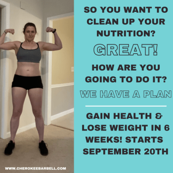Gain Health & Lose WEIGHT in 6 Weeks! Starts September 20th