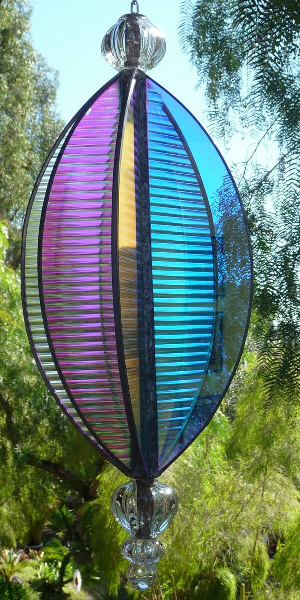 Outdoor Glass Sculpture Cherrie Laporte