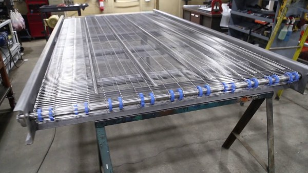 SS WIRE MESH, STAINLESS STEEL WIRE MESH CONVEYOR BELT 1