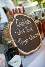 Speciality Drinks Incorporating Tree Stump
