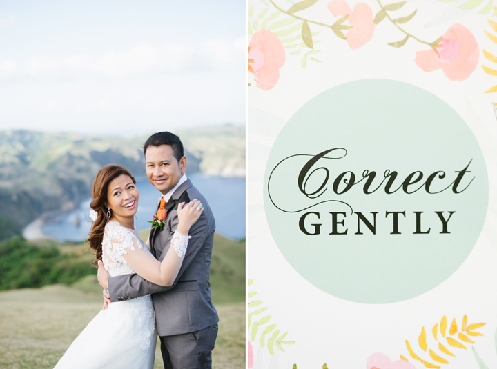Argen & Jason's Kate Spade Batanes Wedding by Nicolai Melicor