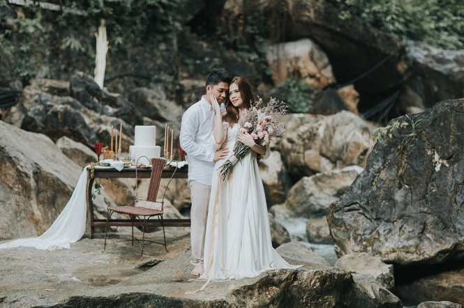 Princess and Karl's Enchanting Nature Engagement by Paopao Sanchez