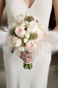 bridal bouquet gatsby